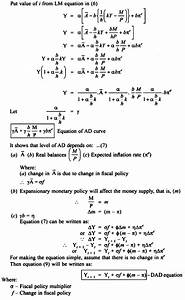 Derivation Of Dad Equation  With Diagram