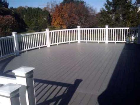 azek deck  timbertech curved rails youtube