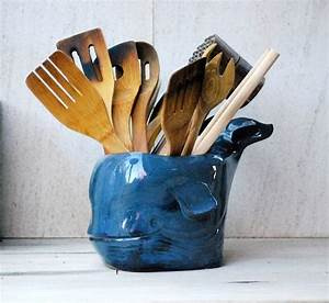 Kitchen, Utensil, Holder, Whale, Decor, Cooking, Gift, Large