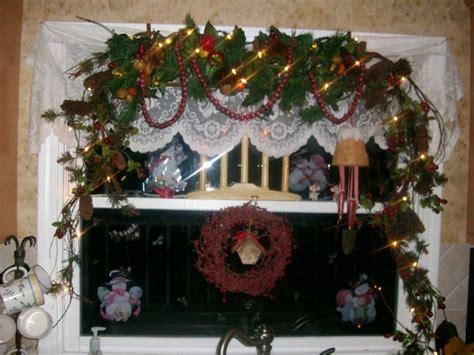 Kitchen Christmas Ideas - kitchen window my christmas decorations pinterest