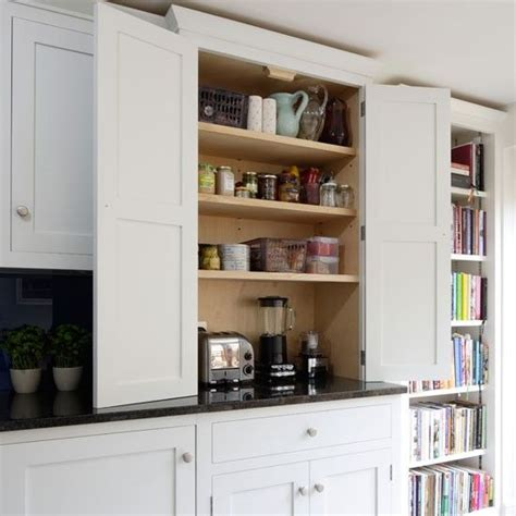 Appliance Cupboards by You Can Keep Your Counters Clutter Free By Planning For An