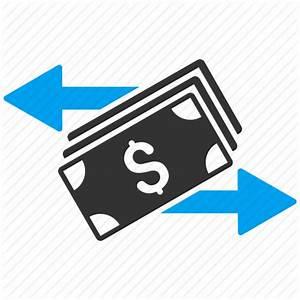 Banking, banknotes, cash flow, financial transactions ...