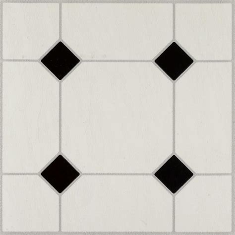 peel and stick floor tile reviews armstrong jubilee black white 12 in x 12 in