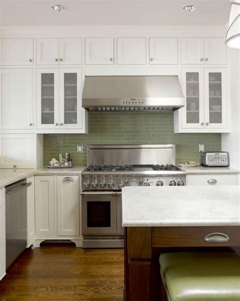 green backsplash kitchen graciela rutkowski interiors green brown 1347