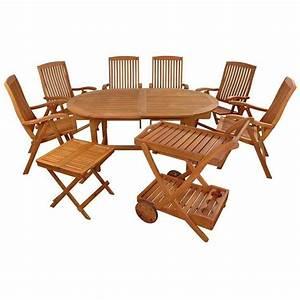 Outdoor Möbel Holz : gartenm bel set 9 teilig sun flair stabile holz sitzgruppe gartengarnitur garten garnitur ~ Sanjose-hotels-ca.com Haus und Dekorationen