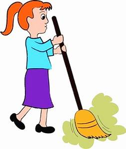 Sweeping Floor Cartoon Current Picture Little Boy Clipart ...
