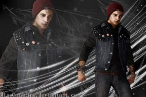 Infamous: Delsin Rowe Wallpaper by MissCatarina on DeviantArt