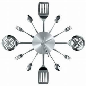 Wanddeko Messer Gabel : k chenuhren designs die den appetit anregen ~ Markanthonyermac.com Haus und Dekorationen