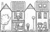 Ice Cream Parlour Colouring Own Kiddicolour Drawing Shops sketch template