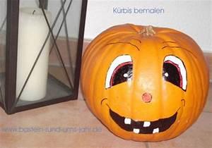 Halloween Kürbis Bemalen : halloween basteln rund ums jahr ~ Eleganceandgraceweddings.com Haus und Dekorationen
