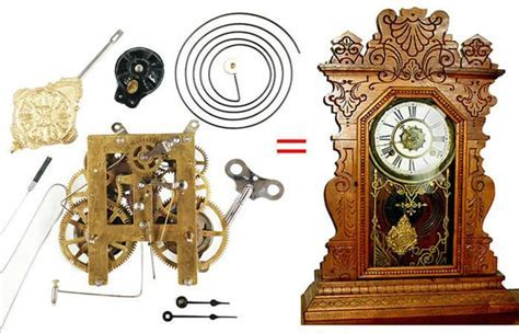 Antique Kitchen Clock Replacement Movement   Clockworks