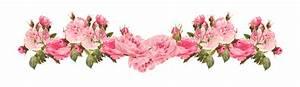 free faux vintage rose borders – vintage roses ...