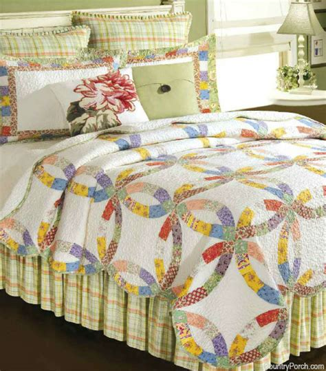 briar s wedding ring quilt bedding by c f enterprises