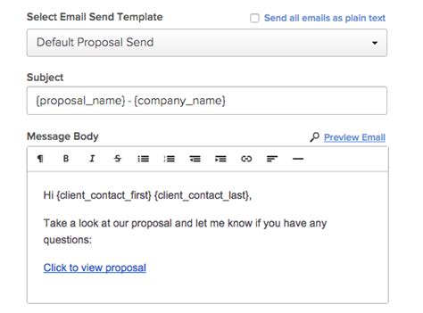 Business Proposal Email Template Costumepartyrun
