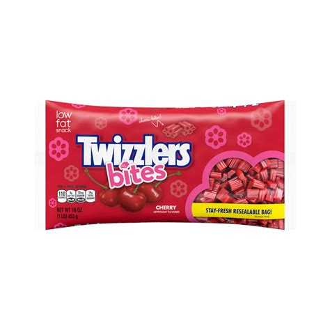 twizzlers cherry bites products nutrition