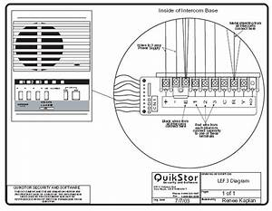 Door Intercom Speaker Wiring Diagram