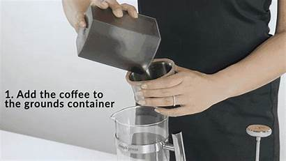 Clean Mess Coffee Filter Smooth Press Paper