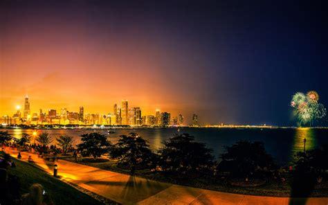 fireworks chicago desktop wallpaper hd
