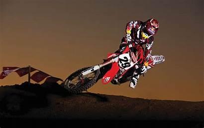 Bull Honda Racing Motocross Wallpapers Desktop Goodwp