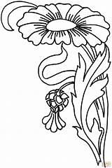Zinnia Coloring Colorear Colorare Disegni Dibujos Flor Dibujo Template Bambini Skip Imprimir sketch template