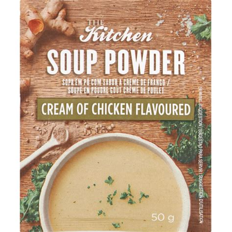 kitchen soup powder brown onion flavoured  soups