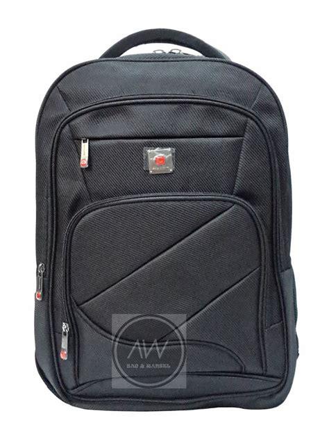 jual beli tas ransel laptop polo classic hitam baru tas ransel pria berkualitas