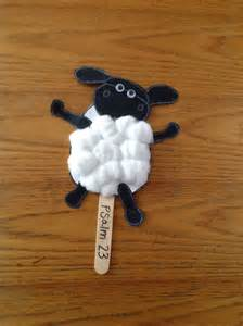 Sheep Bible Craft