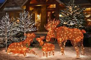 Decoration De Noel Exterieur Lumineuse : la d coration de no l ext rieure ~ Preciouscoupons.com Idées de Décoration