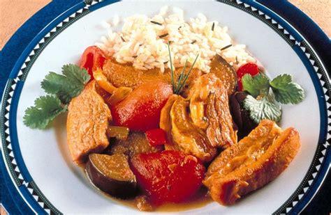 recette de cuisine creole colombo à la créole recettes de cuisine la viande fr
