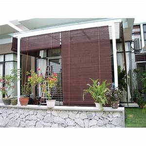Bamboo Window Shades  Protect Your Entertainment Area With