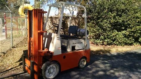 Datsun Forklift by Used Datsun Forklift Model Cfg105 1 Propane Forklift 5