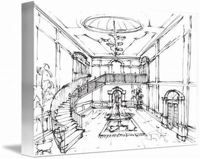 Lobby Sketch Sketches Concept Elevator Gateway Google