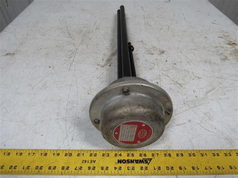 santon or 224 immersion heating heater element 2 kw 115 v 1 ph 23 1 2 quot in bullseye