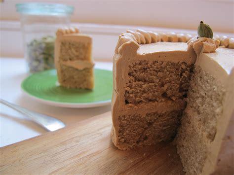 Preheat the oven to 195*c/375*f/ gas mark 5. Coffee Cardamom Cake + Coffee Buttercream Recipe on Food52