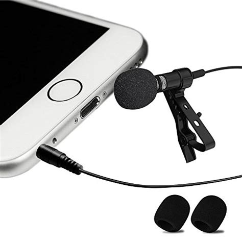 lavalier microphone for iphone best professional 1 best lavalier lapel microphone