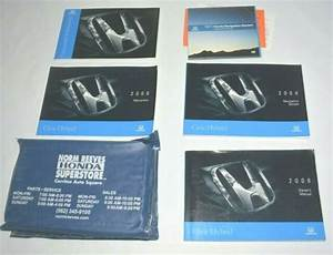 2008 Honda Civic Hybrid Owners Manual Guide Book Set With