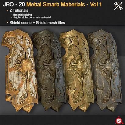 Smart Materials Metal Gumroad Vol Sp Tutorials