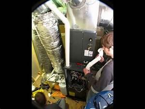 Goodman High Efficiency Furnace Hvac Install Time-lapse Video
