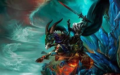 Sorcerer Horse Fantasy Horns Wallpapers Cyberpunk