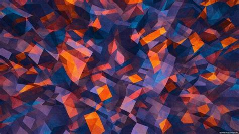 abstract Texture Colorful Digital art Shapes