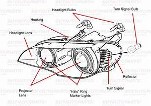Ford Headlight Diagram