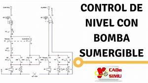Diagrama Y Explicaci U00f3n   U0026quot Control De Nivel Con Bomba Sumergible U0026quot