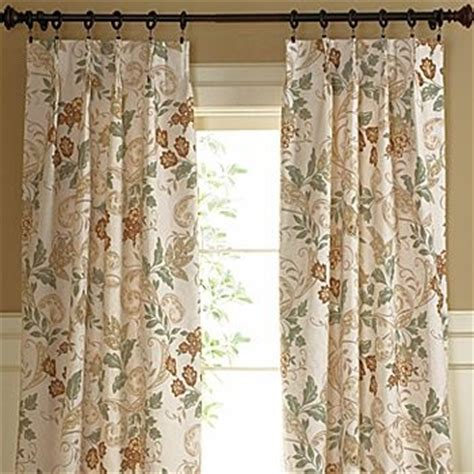 Jcpenney Drapes Thermal - thermal floral pinch pleat draperies for the home