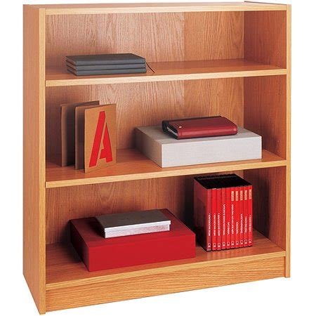 3 shelf bookcase walmart mainstays 3 shelf bookcase in oak color walmart