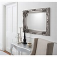 Large Wall Mirror: Carved Louis Mirrorr | Select Mirrors