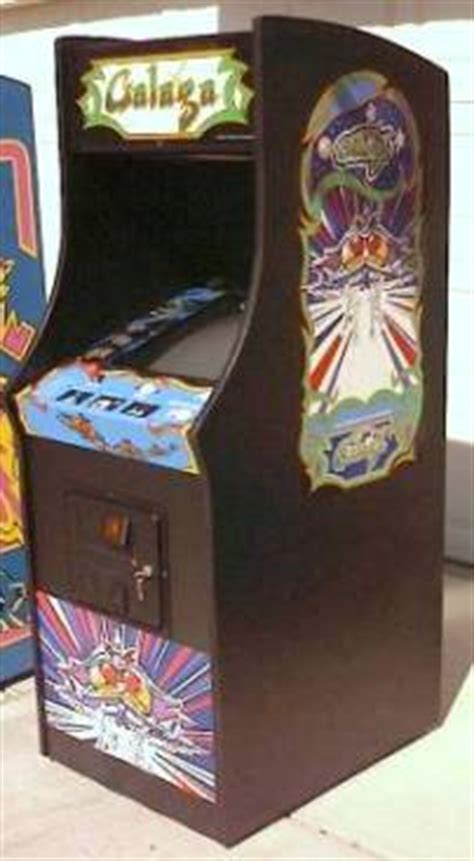 Galaga Arcade Cabinet Plans by New Midway Galaga Upright Cabinet