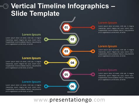 Vertical Timeline Infographics for PowerPoint and Google ...