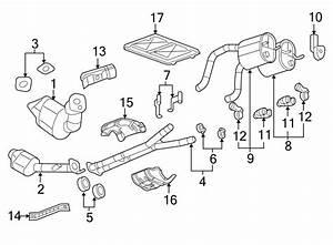 Chevrolet Silverado 2500 Hd Exhaust Clamp