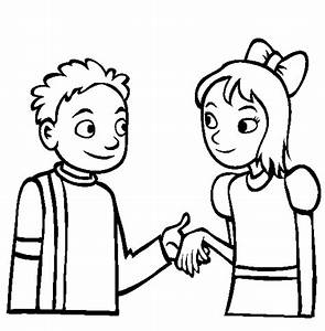 Cartoon People Holding Hands - ClipArt Best