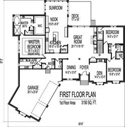 3 bedroom house plans one story 3 car angled garage house floor plans 3 bedroom single